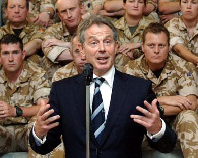 وثيقة بلير خطط مسبقا لغزو العراق الجمل بما حمل نضع أخبار