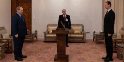 أمام الرئيس الأسد.. الدكتور المقداد يؤدي اليمين الدستورية وزيراً للخارجية والمغتربين