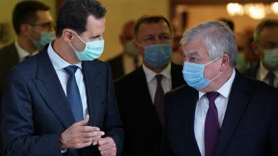 الرئيس الأسد يلتقي وفداً روسيا رفيع المستوى.. لتخفيف العقوبات
