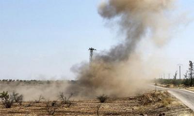 استشهاد وإصابة العشرات من المدنيين.. انفجار لغم بسيارتين