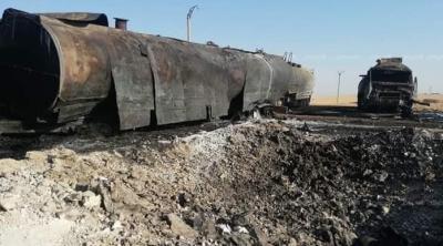 قتلى وجرحى جراء استهدافات مجهولة لحراقات النفط السوري المسروق شمالي البلاد