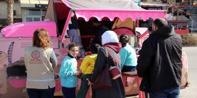المقهى الجوال… مشروع  لصمود المرأة السورية في طرطوس