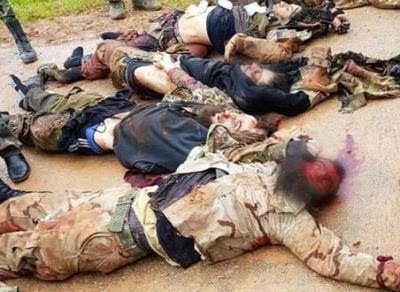 مصدر عسكري: وحدات الجيش تتصدى لهجوم مجموعات إرهابية على نقاط عسكرية بريف حماة الشمالي
