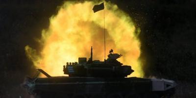 دبابة سورية تعمل بالطاقة الشمسية!!