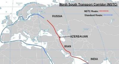 الهند وروسيا وإيران يطلقون طريقا بديلا لقناة السويس