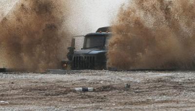سوريا تستخدم سيارة مدرعة منقطعة النظير