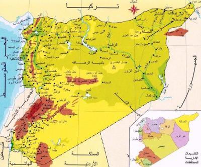 """سيناريو فرنسي لتقسيم الأراضي السورية عبر خطة """"الممرات الإنسانية"""""""