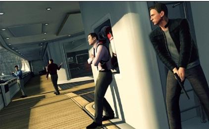 مقطع من لعبة جيمس بوند 007 صممتها ياربا