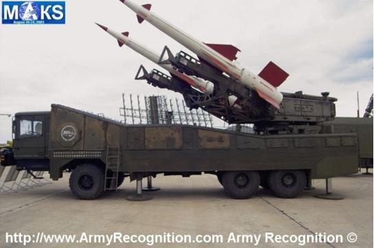 """(توصيف: """"بيكورا – 2 م"""" نظام صاروخي أرض-جو مضاد للصواريخ قصير المدى مصمم لتدمير الطائرات, وصواريخ كروز, والحوامات الهجومية, وأهداف جوية أخرى على ارتفاعات أرضية ومنخفضة ومتوسطة.)"""