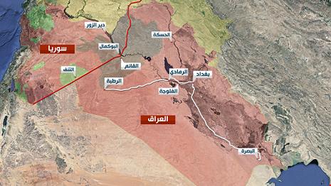 """ما صلة الأنبوب الأميركي بنقل """"الدواعش"""" إلى الحدود السورية ــ العراقية؟"""
