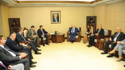 مباحثات سورية روسية اقتصادية في دمشق تحضيراً لاجتماع حكومتي البلدين في سوتشي الأسبوع المقبل