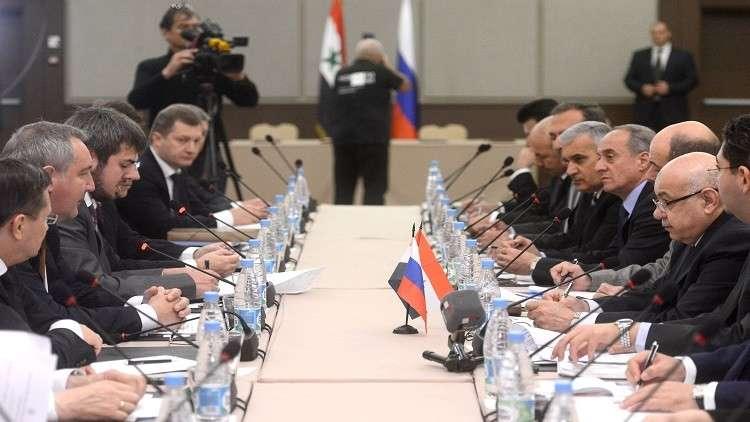 اتفاقات اقتصادية روسية ــ سورية في سوتشي