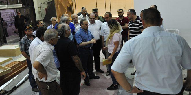 خميس: عمليات شحن البضائع لعقود التصدير التي ستوقع خلال معرض دمشق الدولي ستكون مجانية.
